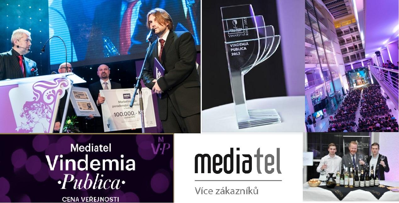 Vyhlášení ankety Mediatel Vindemia Publica