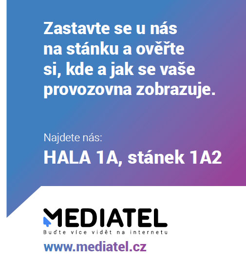 Mediatel pozvanka - veletr For Gatsro
